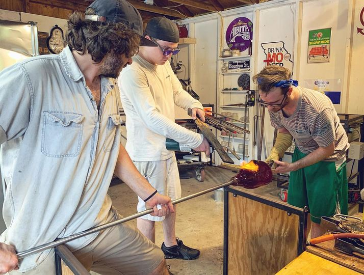 Live Glass Blowing by Muffinjaw