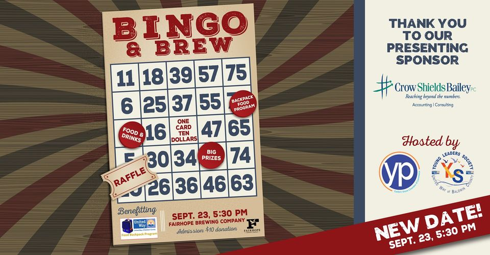 Young Professionals Bingo and Brews