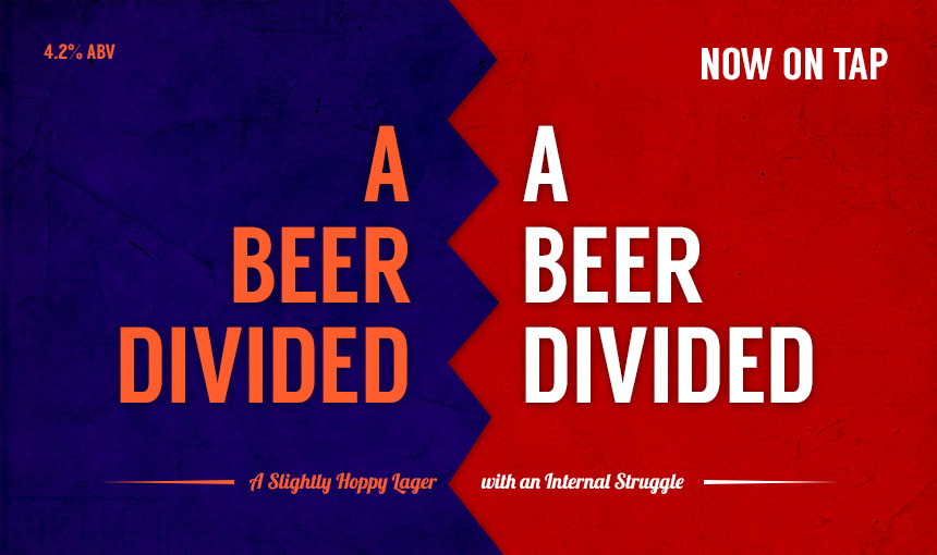 A Beer Divided