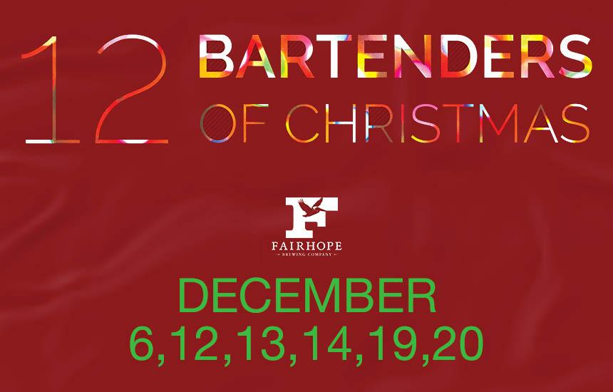 Twelve Guest Bartenders of Christmas