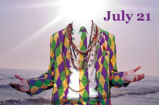 Mardi Gras in July - full details