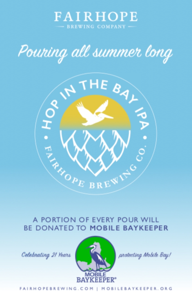 Hop in the Bay IPA Pouring All Summer Long